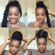 images of black braided bunstyle with bangs in back hairstyle loving this braided bun style amber belovely created getthelook