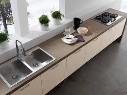 Kitchen Top Cabinets Contemporary Kitchens Without Upper Cabinets Easy Kitchen By Treo