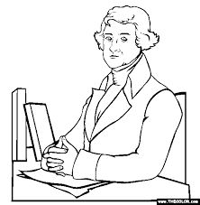 thomas jefferson coloring