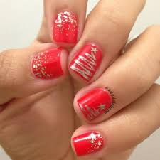 25 cool christmas nail designs makeup nail nail and pretty nails