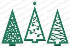 christmas tree craft dies 123stitch com