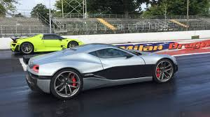 porsche 918 spyder rimac concept one beats the porsche 918 spyder in a dragstrip