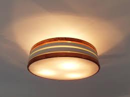 Flush Lights Finnish Copper U0026 Plexiglas Flush Mount Ceiling Light From Itsu