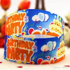 offray ribbon wholesale 7 8 22mm color birthday cake series 10 yards silk ribbon