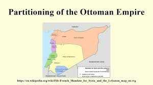 Location Of The Ottoman Empire by Partitioning Of The Ottoman Empire Youtube