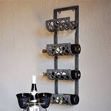 wall wine rack large selection of wine racks wall mounted iron