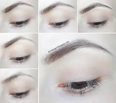 How To Fill Eyebrows My Eyebrow Routine January