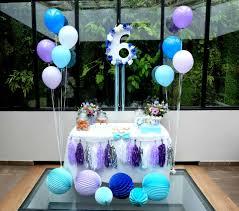 deco jungle bapteme décoration de ballons pour un anniversaire organisation baby