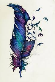 this would definitely be the only colored tattoo i want tattoo