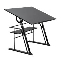 Simple Drafting Table Studio Designs Zenith Drafting Table Color Black 13340