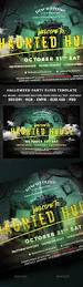 Halloween Party Haunted House 48 Best Halloween Party Images On Pinterest Flyer Template Font