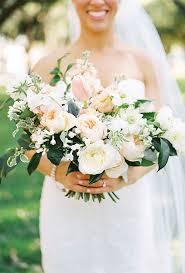 wedding flowers greenery organic wedding bouquet ideas blush roses ranunculus and greenery