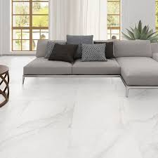 Living Room With Large Porcelain Tiles Ver  Ider Om Tiles For - Floor tile designs for living rooms