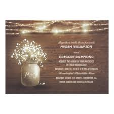 jar wedding programs rustic wedding invitations announcements zazzle co uk