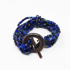 blue bead bracelet images Jewelry new blue bead bracelet poshmark jpg