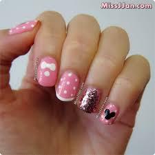 missjjan u0027s beauty blog disney minnie mouse inspired nail art