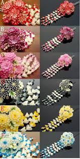 57 best kanzashi japanese hair ornaments images on pinterest