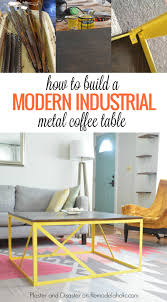 remodelaholic how to build a modern industrial wood and metal