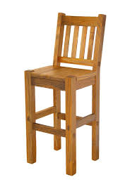 Bar Stool With Back Collection In Wooden Bar Stool With Back Rustic Lodge Log And Wood