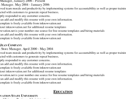 resume easy resume template free is one of the best idea for you