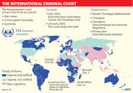 Gambia Africa Map by The Future Of International Criminal Court