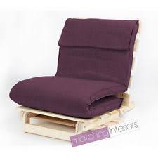 purple futon ebay