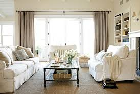 White Living Room Decor Ideas For White Living Room Decorating - Curtains for living room decorating ideas