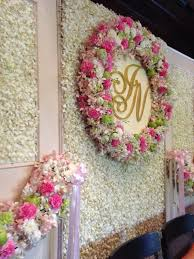 wedding backdrop of flowers flower backdrop for thai wedding ceremony at 137 pillars house