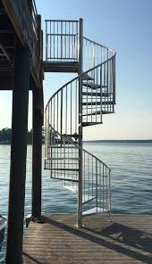 outdoor spiral staircase perfect for small space translatorbox