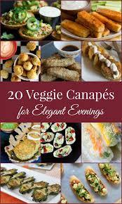 canapes recipes 20 vegetarian canape recipes foodies 100
