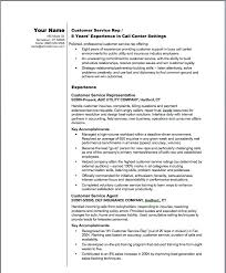 Free Sample Resume For Customer Service Representative Example Of A Great Resume Resume Example And Free Resume Maker