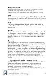 salads dressings english