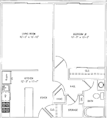 1000 Square Foot Floor Plans by Floor Plans For 1000 Square Feet Apartments