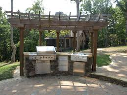 Large Paver Patio Design With Grill Station Bar Plan No by With Outdoor Stone For Patio On Casino Blend Paving Patterns Also