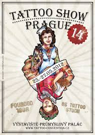 prague tattoo convention 2012 tattoo convention poster
