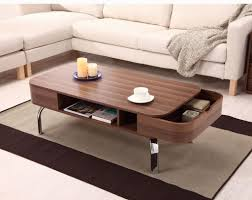 Two Drawer Coffee Table Furniture Walnut Two Drawer Coffee Tables For Sale 49 Unique