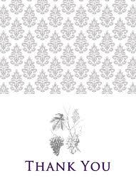 wedding invitations passport thank you card vintage grapes