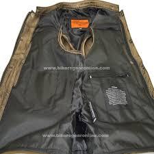 brown motorcycle jacket men u0027s distressed brown leather motorcycle club vest bikers gear