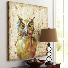 quirky owl art owl art owl and paintings