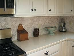 subway tile kitchen backsplashes mini subway tile kitchen backsplash cream herringbone stone mosaic