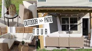 outdoor patio tour backyard decor u0026 furniture house home