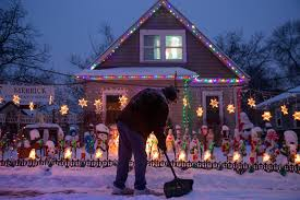 merry and bright why one st paul man lights up his neighborhood