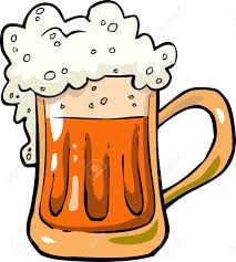 cartoon beer cartoon mug of beer foam vector illustration royalty free cliparts