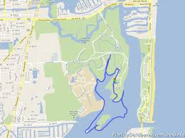 Florida State Parks Map Kayaking At Oleta River State Park With A Huge Group Of People