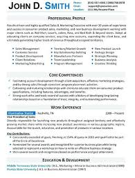 sample professional resume format for experienced free sample
