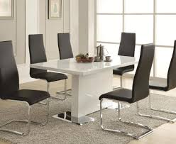 dining memorable white dining table dark chairs admirable white