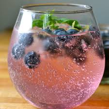 blueberry martini recipe basil and blueberry vodka soda now that looks refreshing