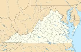 virginia on a map of the usa usa virginia location map mapsof net