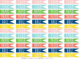 College Flag Free College Page Flag Planner Stickers Felly Bee Felly Bee