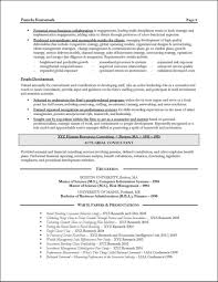 employment resume exles employmentant resume exles managementing resume page 3